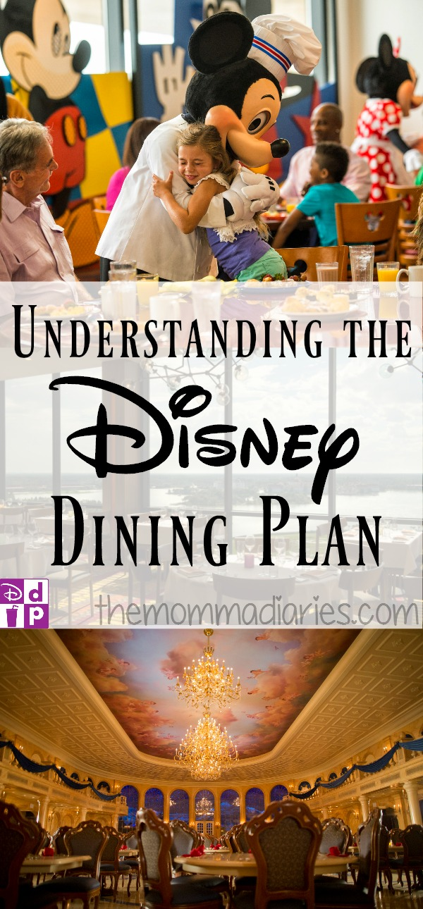 Understanding The Disney Dining Plan The Momma Diaries
