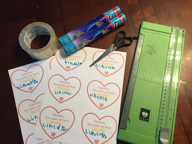 DIY Valentines Supplies
