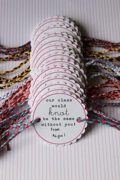 Friendship Bracelet Kids Valentines DIY