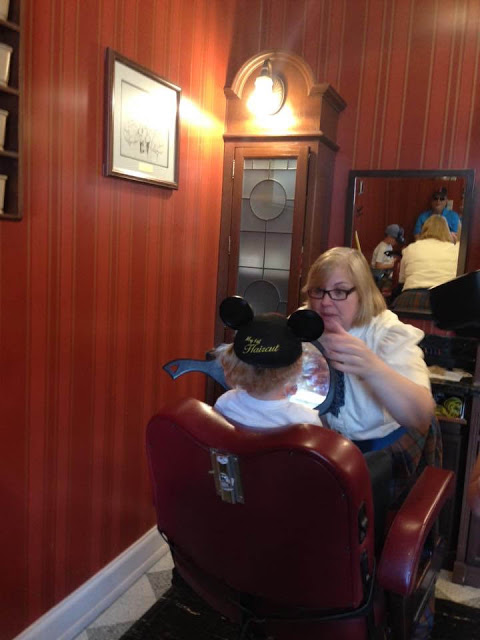 Disney First Haircut Mickey Ears
