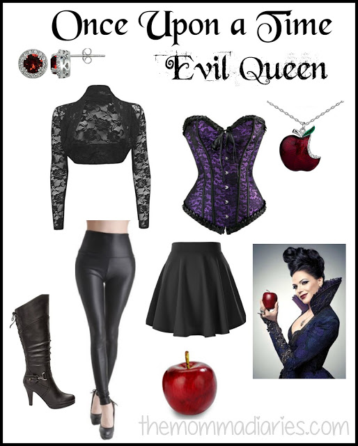 Once Upon a Time Evil Queen Costume, DIY Evil Queen Costume, Regina Mills DIY Costume, Disney Bound Evil Queen, Evil Queen Cosplay, #MNSSHP #NotSoScary #WDWFall #LetsBooThis #DisneySMC #DisneyBound #Disneybounding #DisneyCosplay
