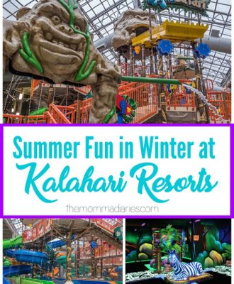 Winter at Kalahari Resorts