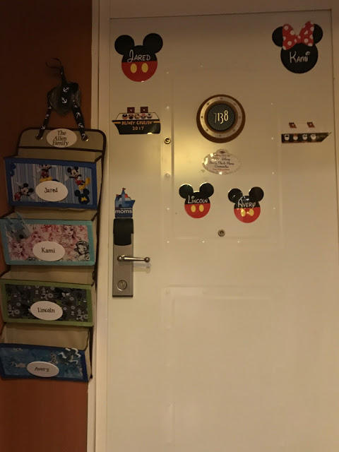 Disney Cruise Fish Extender and door magnets