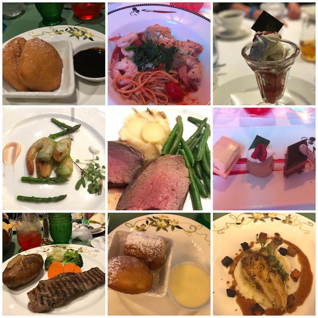Food on Disney Cruise Line