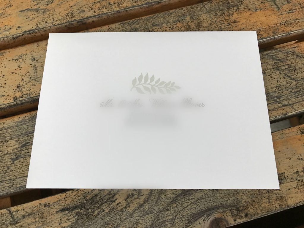 Minted Save the Date Envelope