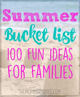 Summer Bucket List, Summer Bucket List Ideas for Families, Summer Bucket List ideas