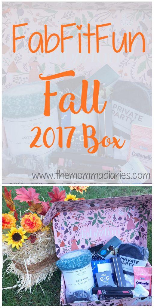 FabFitFun Fall 2017 Box