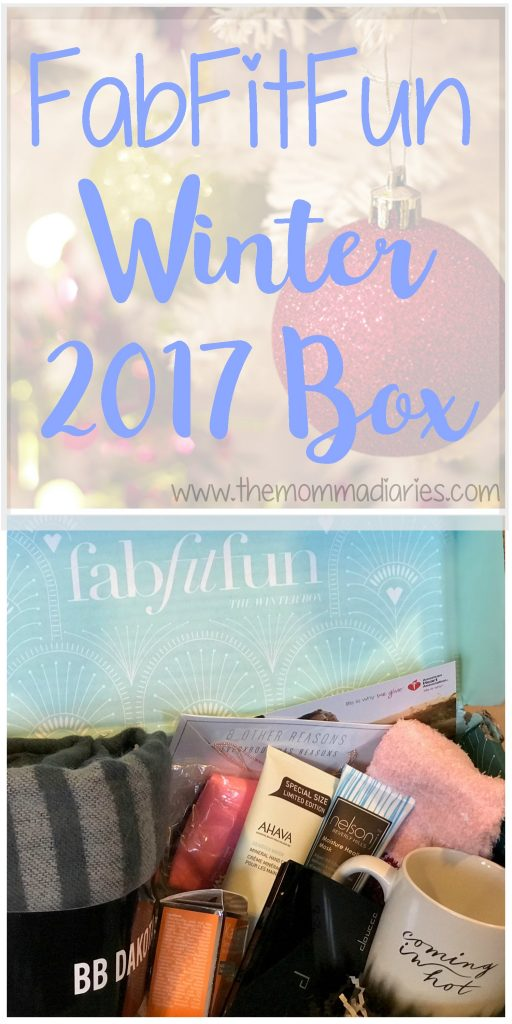 FabFitFun Winter 2017 Box