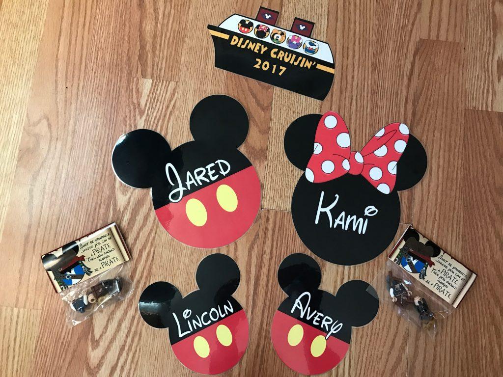 Disney Cruise Stateroom Door Magnets