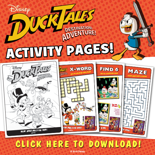 DuckTales Destination Adventure Activity Kit