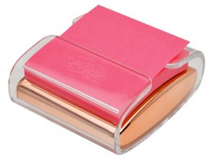 Rose Gold Post It Note Holder