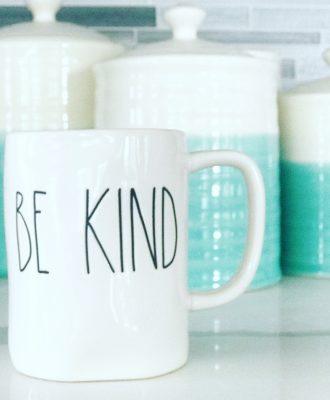 Rae Dunn Be Kind Mug