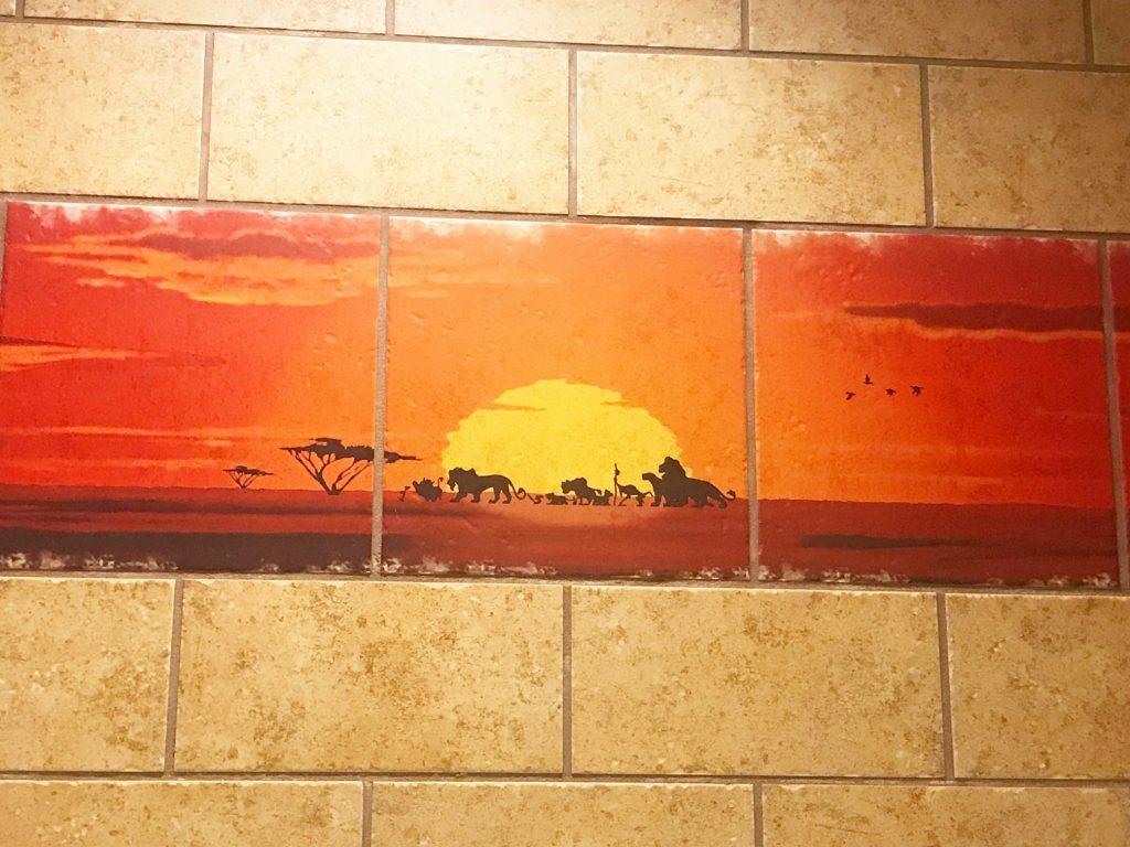 Animal Kingdom Lodge Kidani Village Accessible Bathroom