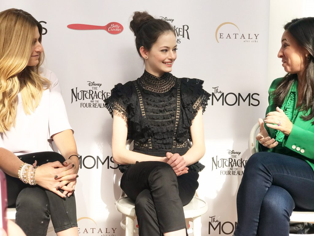 Mackenzie Foy Interview with The Moms Network