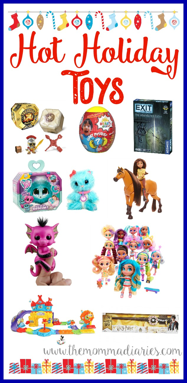 Hot Holiday Toys, Holiday Gift Guide, Toy Gift Guide, Gift Guide for Kids, #Hotholidaytoys, #weknowplay, #holidaygiftguide, 2018 hot holiday toys