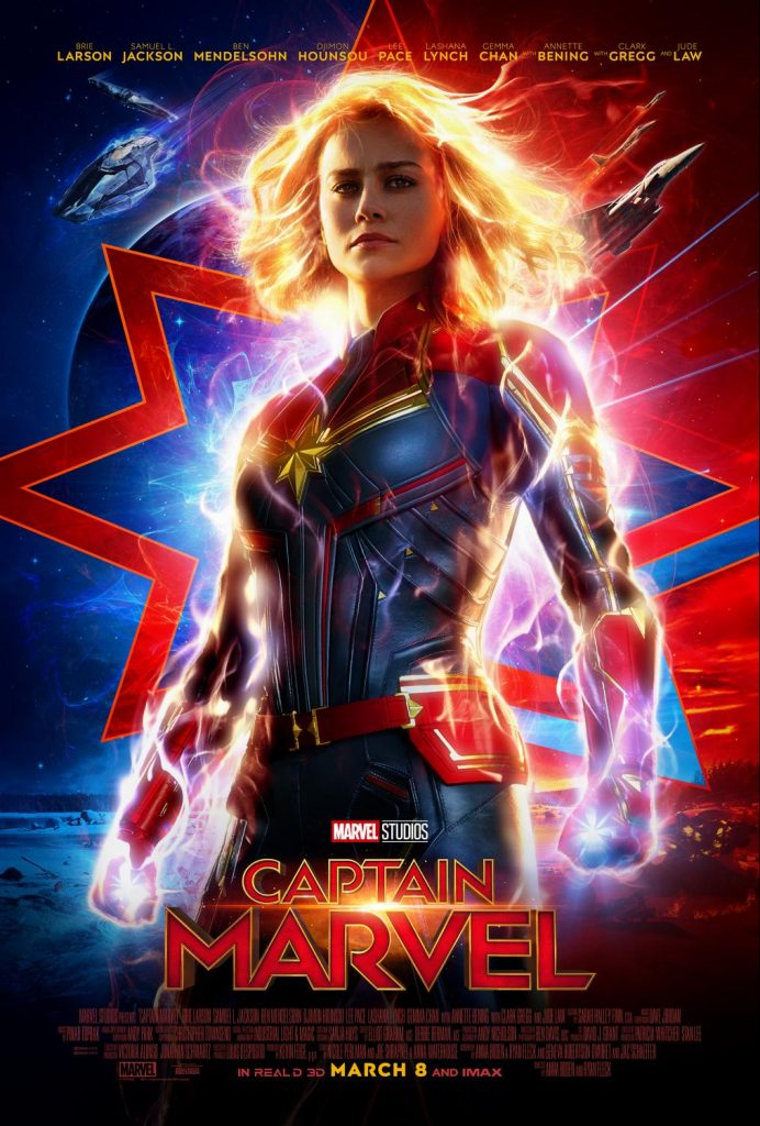 Captain Marvel Trailer, Captain Marvel Poster, #CaptainMarvel