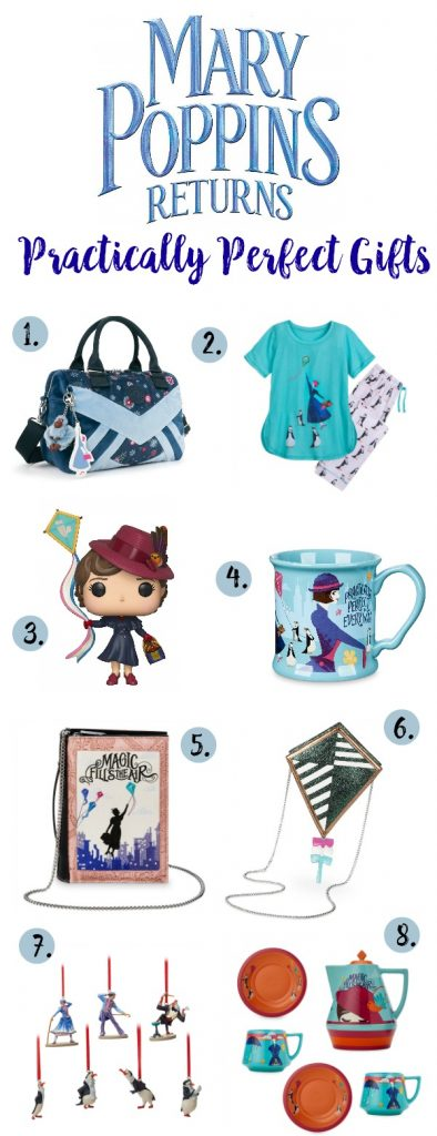 Mary Poppins Returns Gifts, Mary Poppins Returns Merchandise, Mary Poppins Gifts, Mary Poppins Returns Gift Guide, #MaryPoppinsReturns