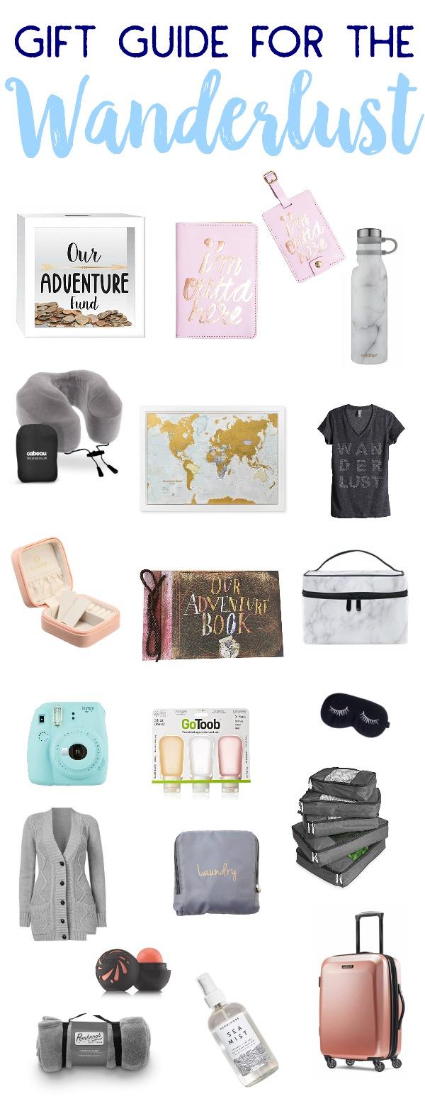 Travel Gift Guide, Travel gift ideas, wanderlust gift guide, gift guide for the wanderlust, holiday gift guide for the travel lover, travel gift ideas, wanderlust gift ideas, gifts for travel lovers,