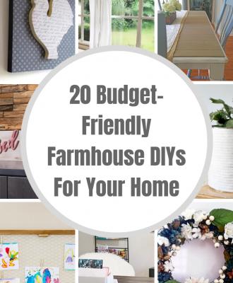 Budget Friendly Farmhouse