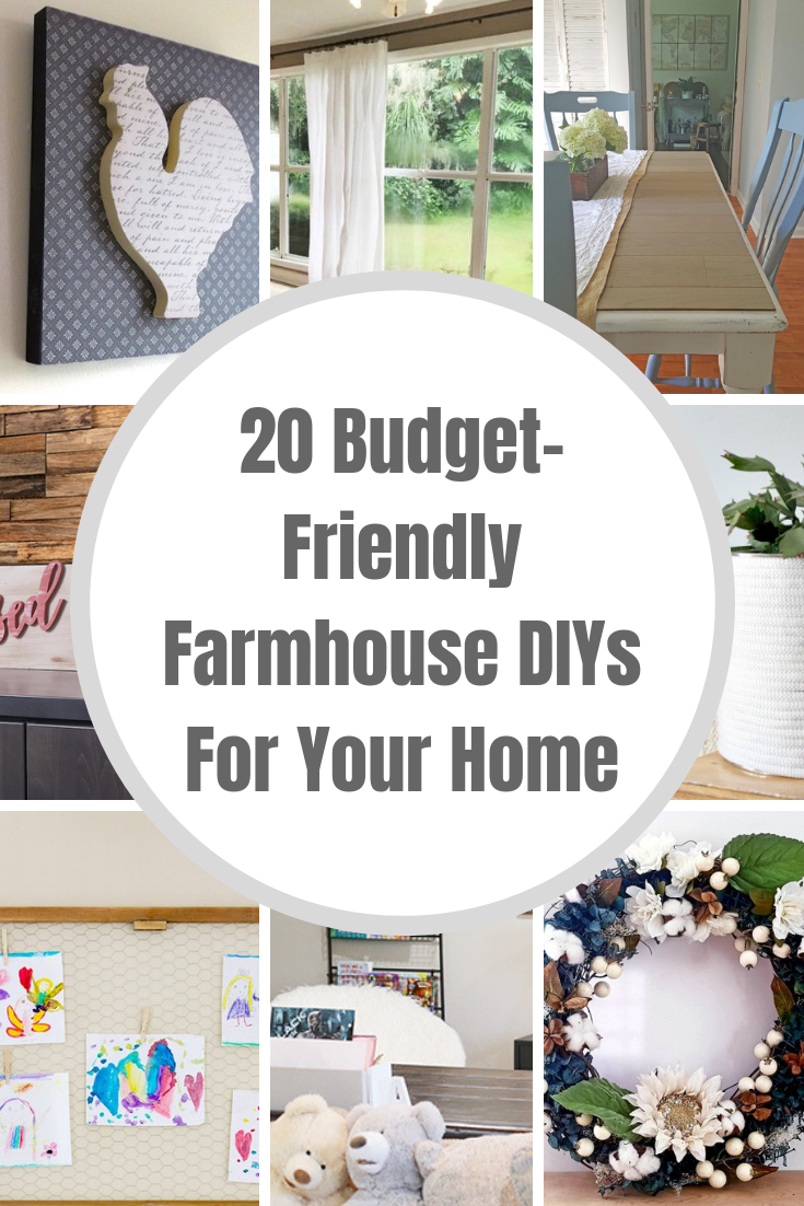 Budget Friendly Farmhouse