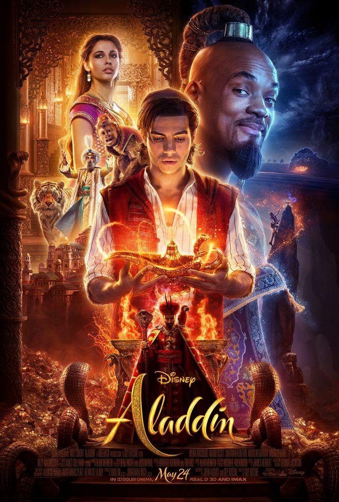 Aladdin official trailer, aladdin official poster, #Aladdin
