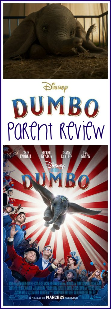 Dumbo Parent Review, Dumbo Movie Review, Is Dumbo Kid Friendly, Dumbo review, #Dumbo, #DisneyMovies, #moviereview, #Kidsmovies
