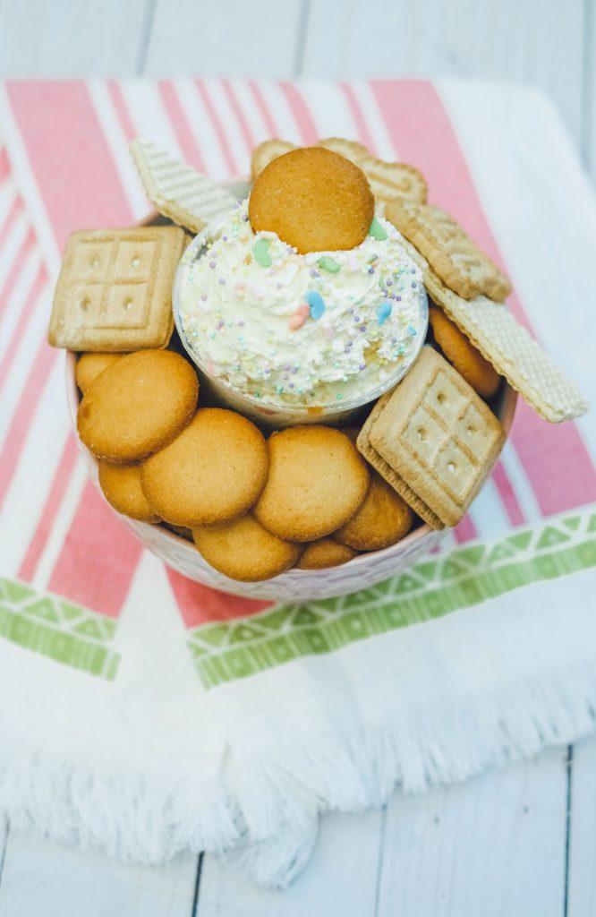 Funfetti Cake Batter Mix, Spring Cake Batter Mix, Easter Desserts, Spring Desserts, Funfetti Desserts, Nilla Wafer Desserts, #SpringDesserts, #EasterDesserts