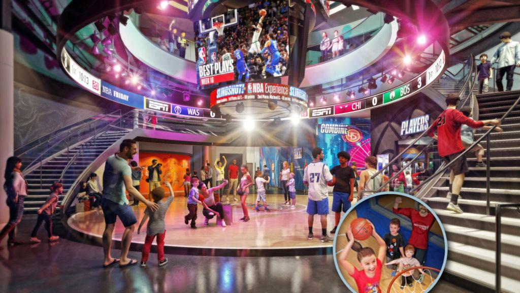 NBA Experience Disney Springs