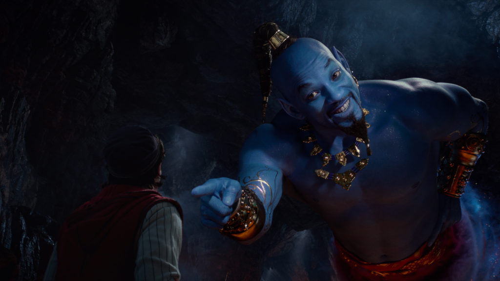 will smith as genie