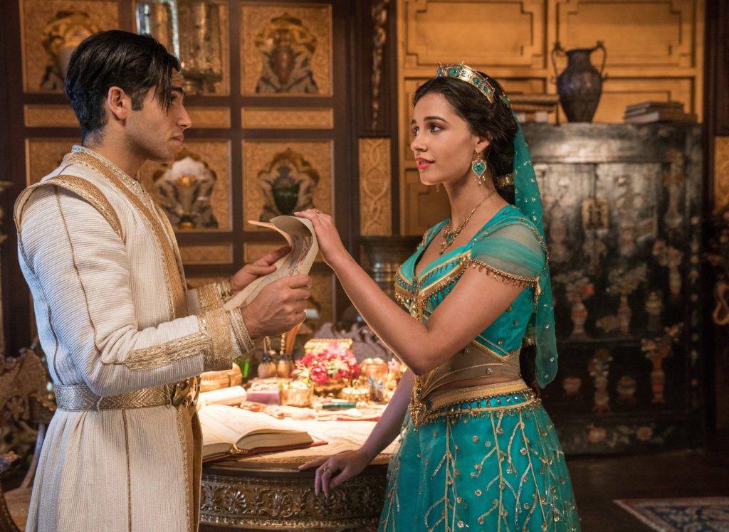 aladdin and jasmine in disney's live action aladdin