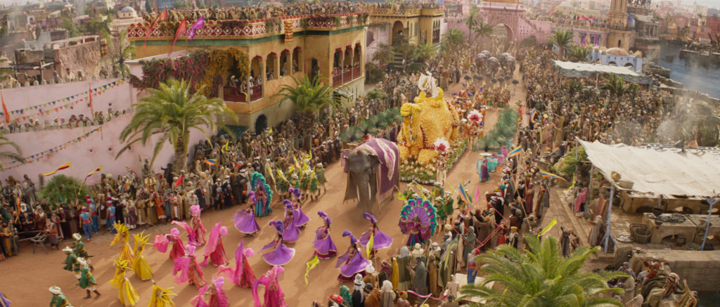 Prince Ali parade in Agrabah