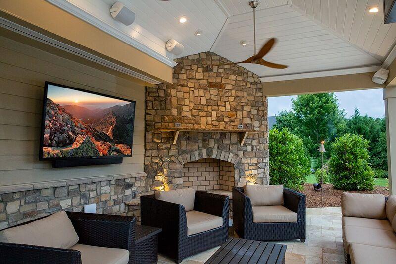 SunBrite Veranda Series Outdoor 4K UHD TVs with HDR, family movie night