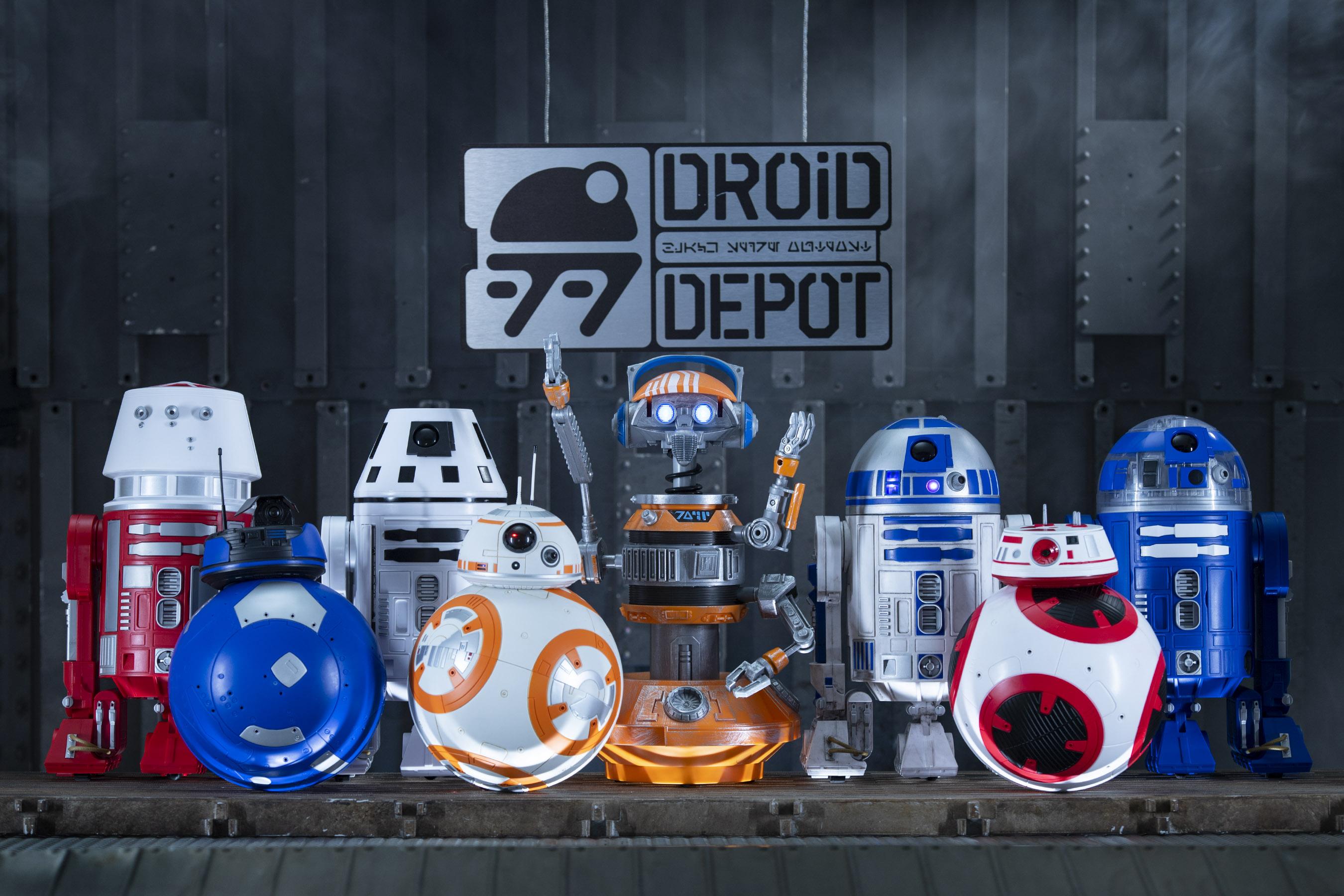 Droid Depot in Star Wars Galaxy's Edge