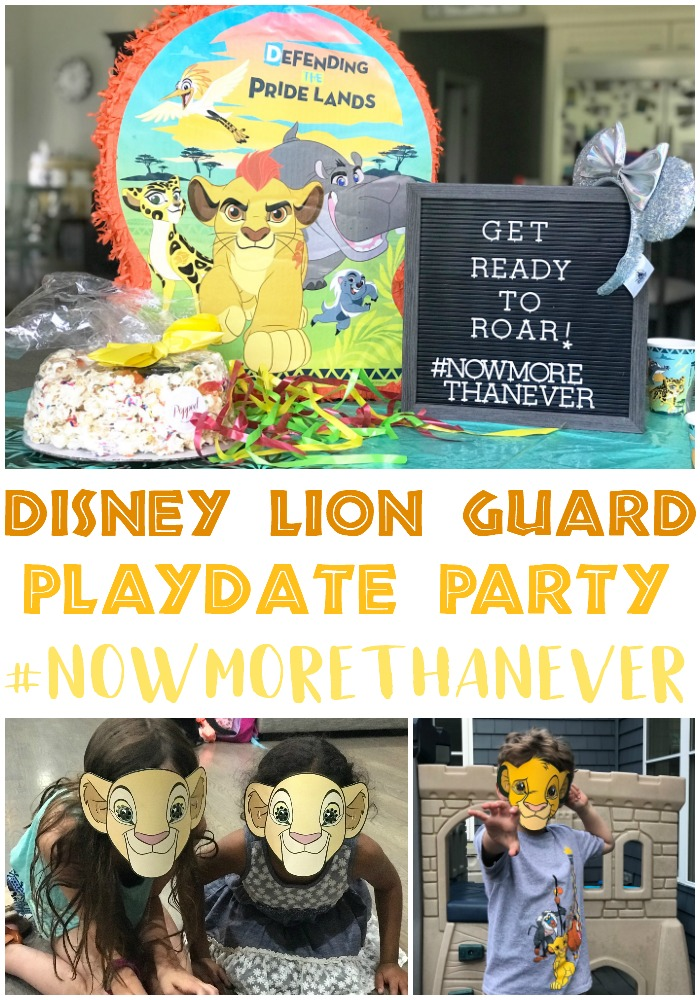 Disney Playdate party, Lion Guard Party, Lion King Party, #NowMoreThanEver #TheLionKing #TheLionGuard #DisneyKids
