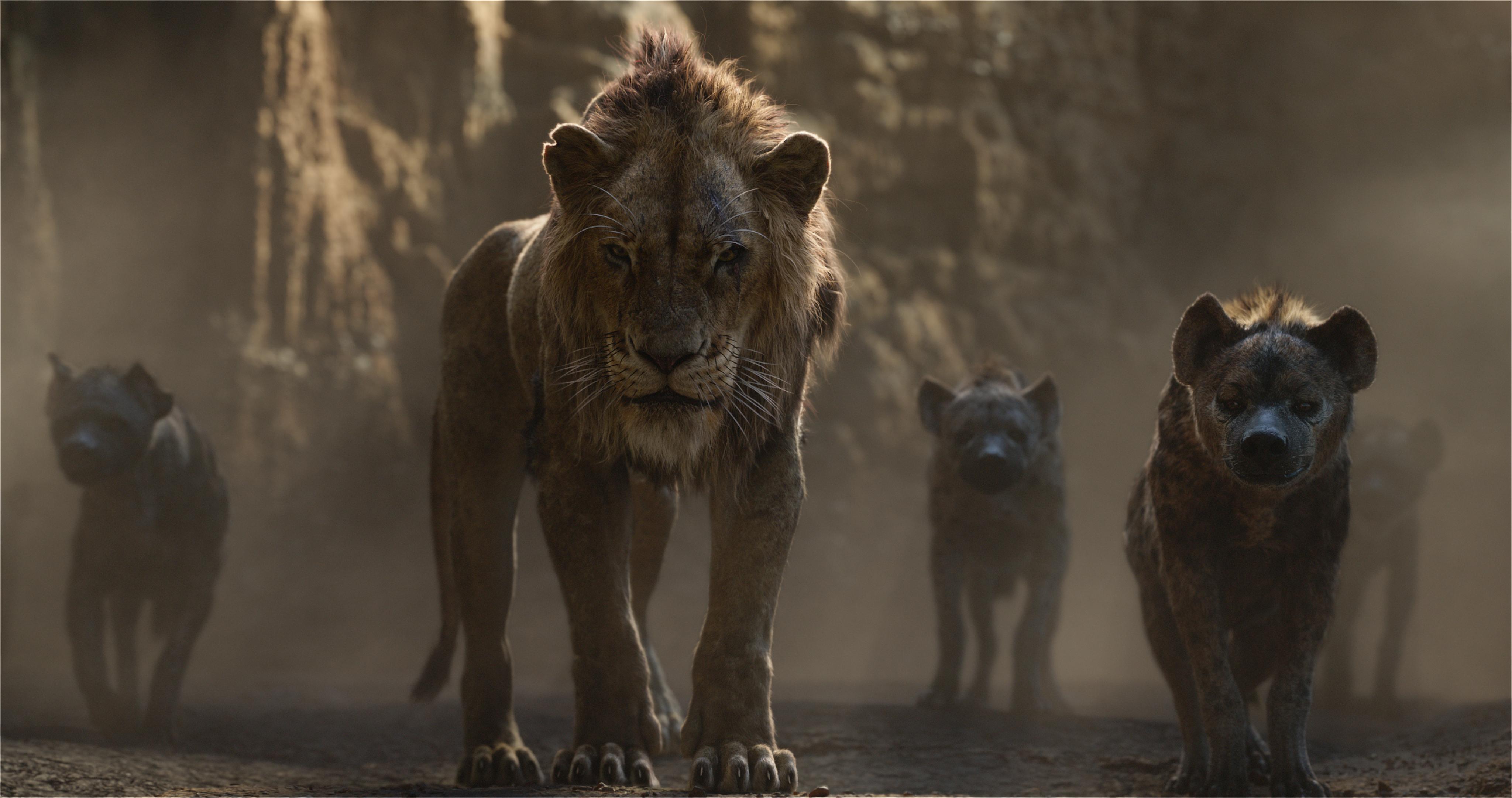 scar and hyenas lion king