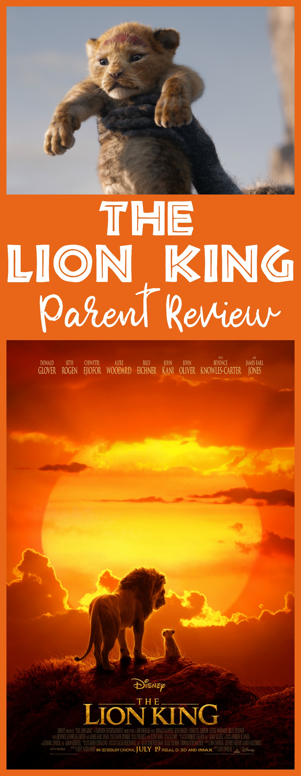 lion king parent review, the lion king movie review, is the lion king kid-friendly, lion king safe for kids, should kids see the lion king, #TheLionKing #moviereview #Disneymovies