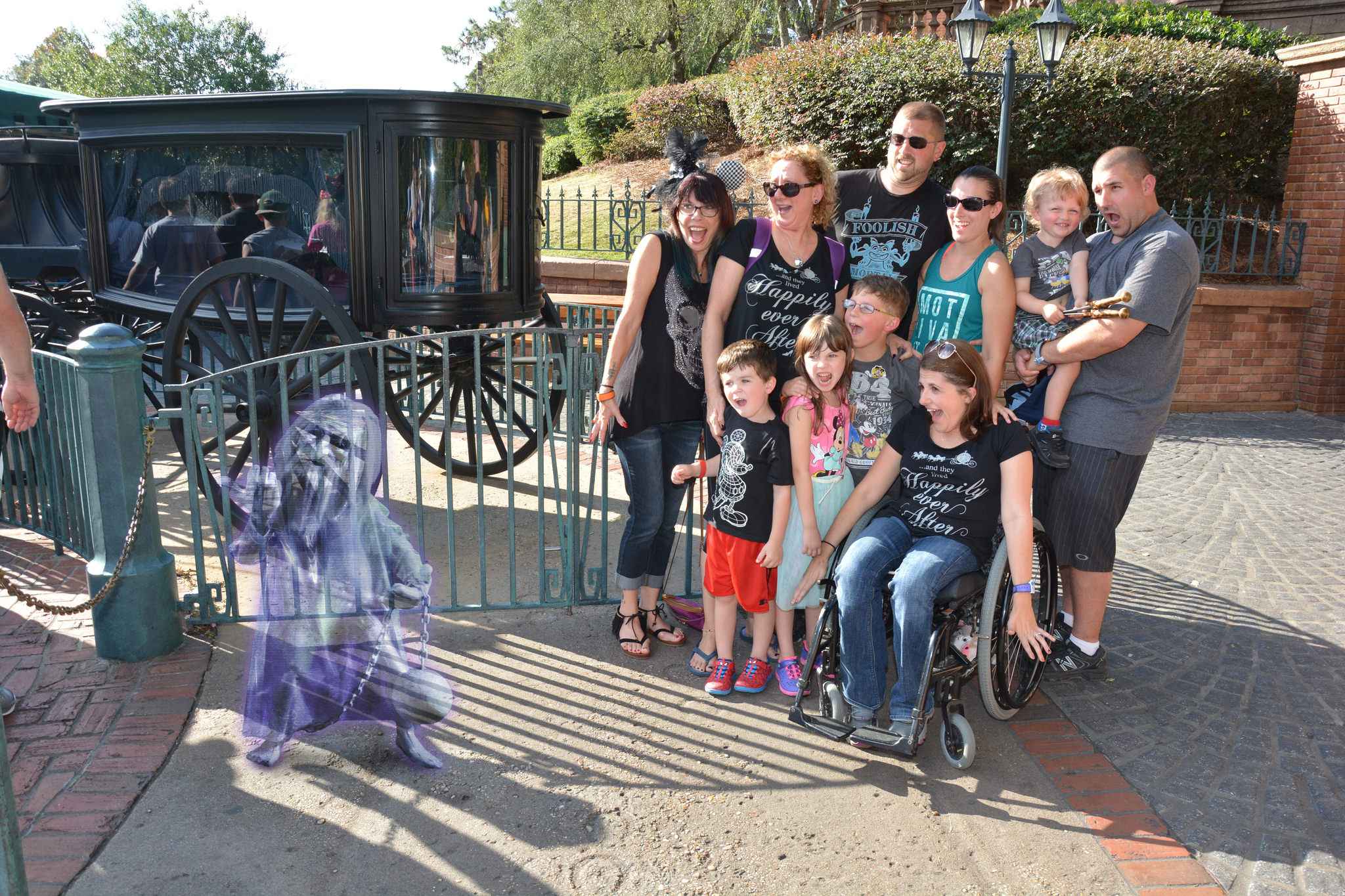 Disney magic Shot photo Haunted Mansion