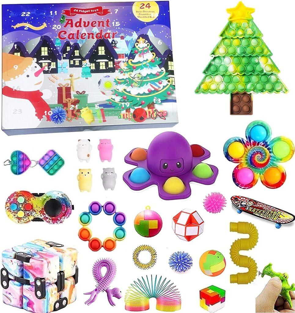 Fidget Toys Advent Calendar