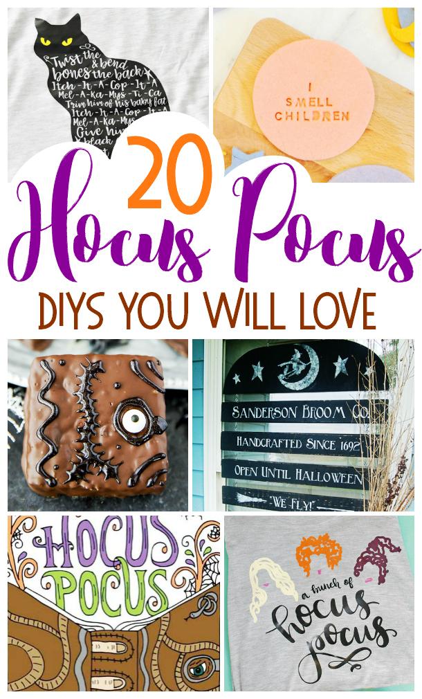Hocus Pocus DIYS, DIY Hocus Pocus, Hocus Pocus DIY, Sanderson Sisters DIY, Hocus Pocus Crafts, Sanderson Sisters Crafts, Halloween DIY, Disney DIYS, Disney Halloween