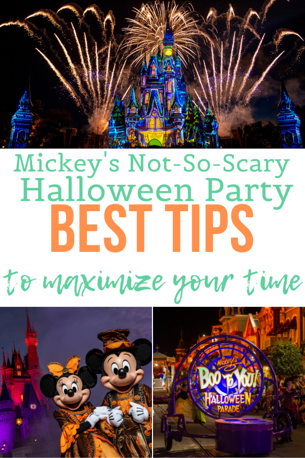 Mickey's Not-So-Scary Halloween Party Best Tips