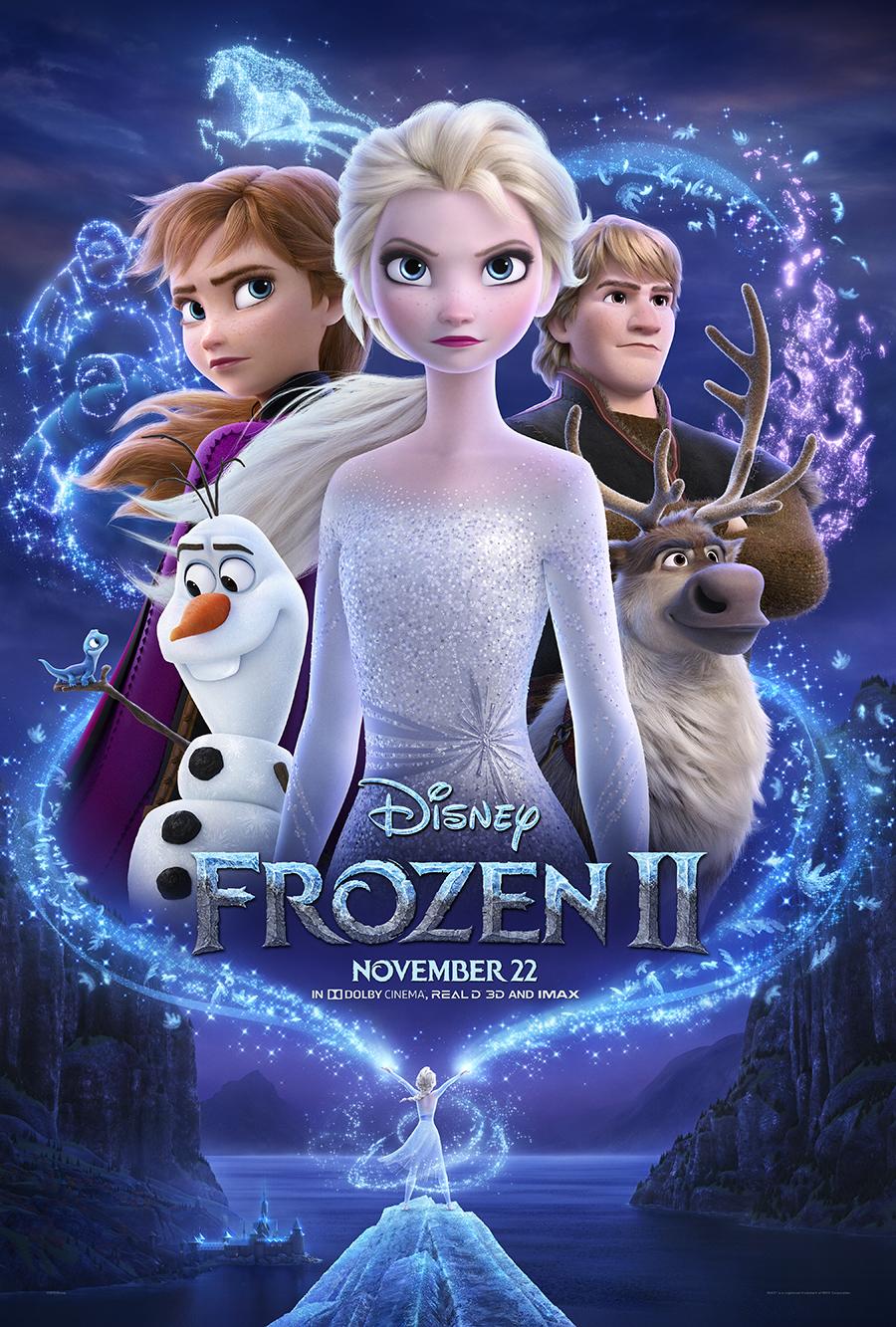 Frozen 2 Official Poster, #Frozen2