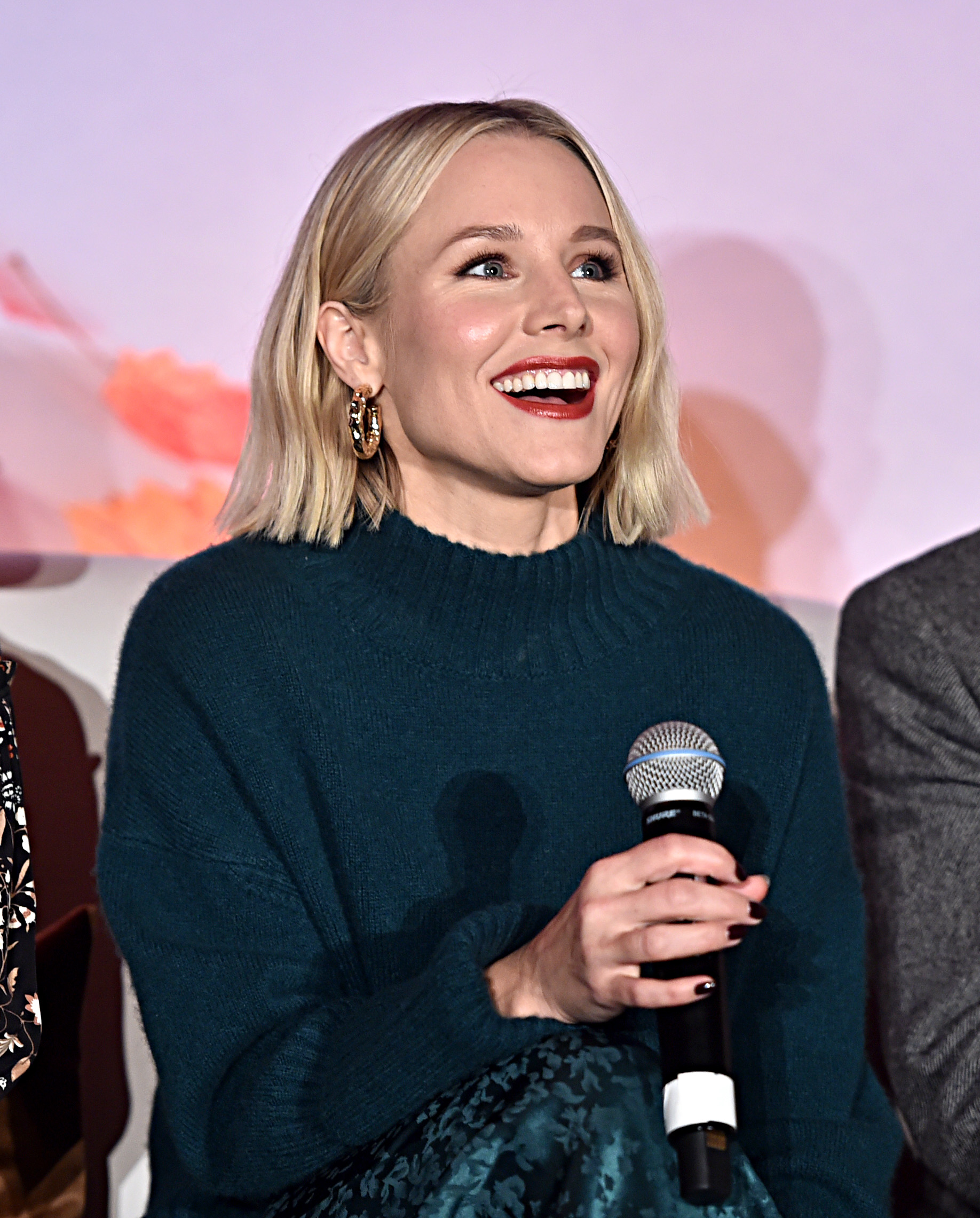 Kristen Bell as Anna at Frozen 2 Press Junket