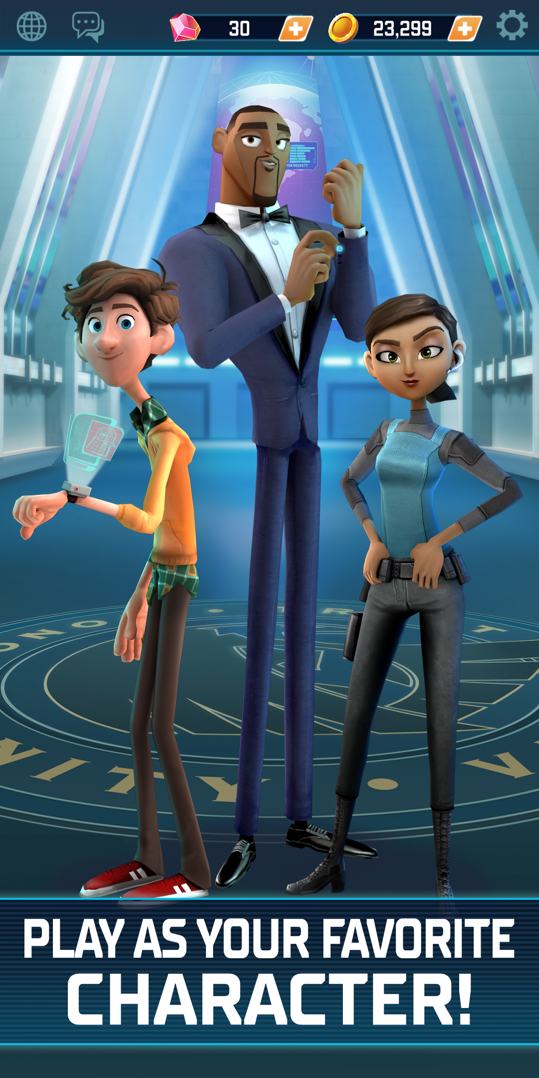 Spies in Disguise Mobile Game