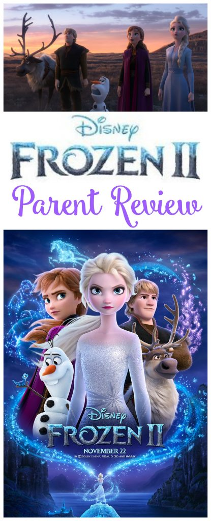 Frozen 2 Parent Review, Frozen 2 Kid Friendly, #Frozen2