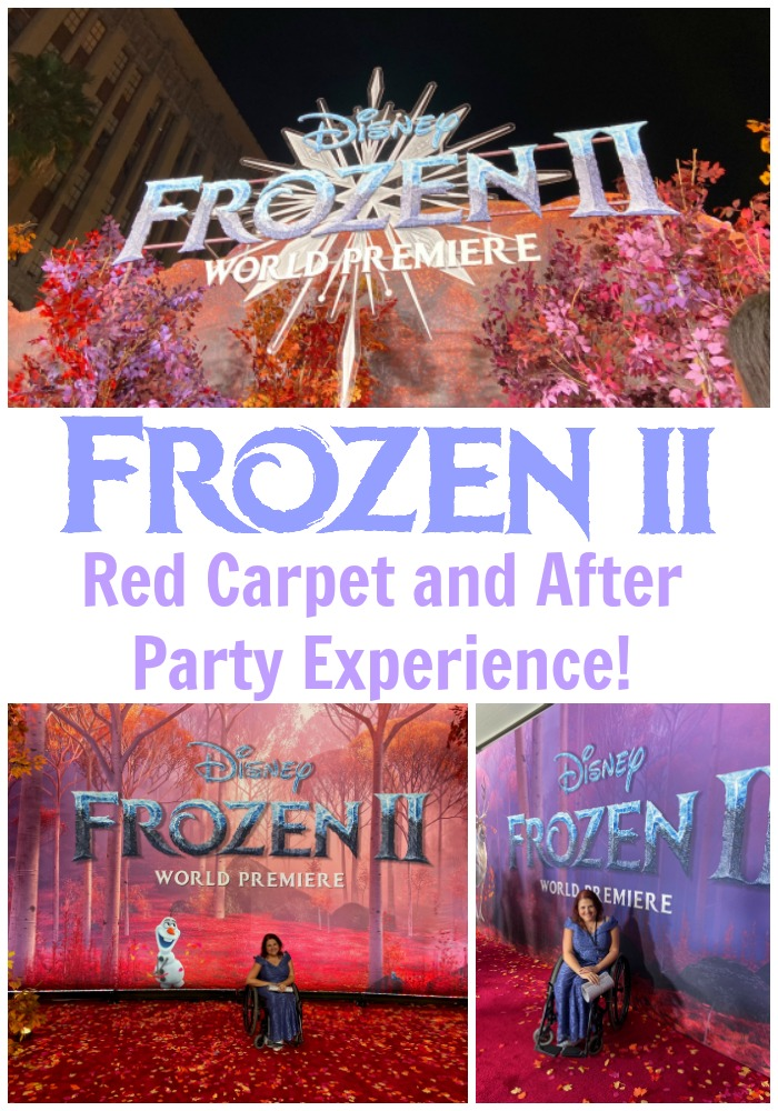 Frozen 2 Red Carpet Experience
