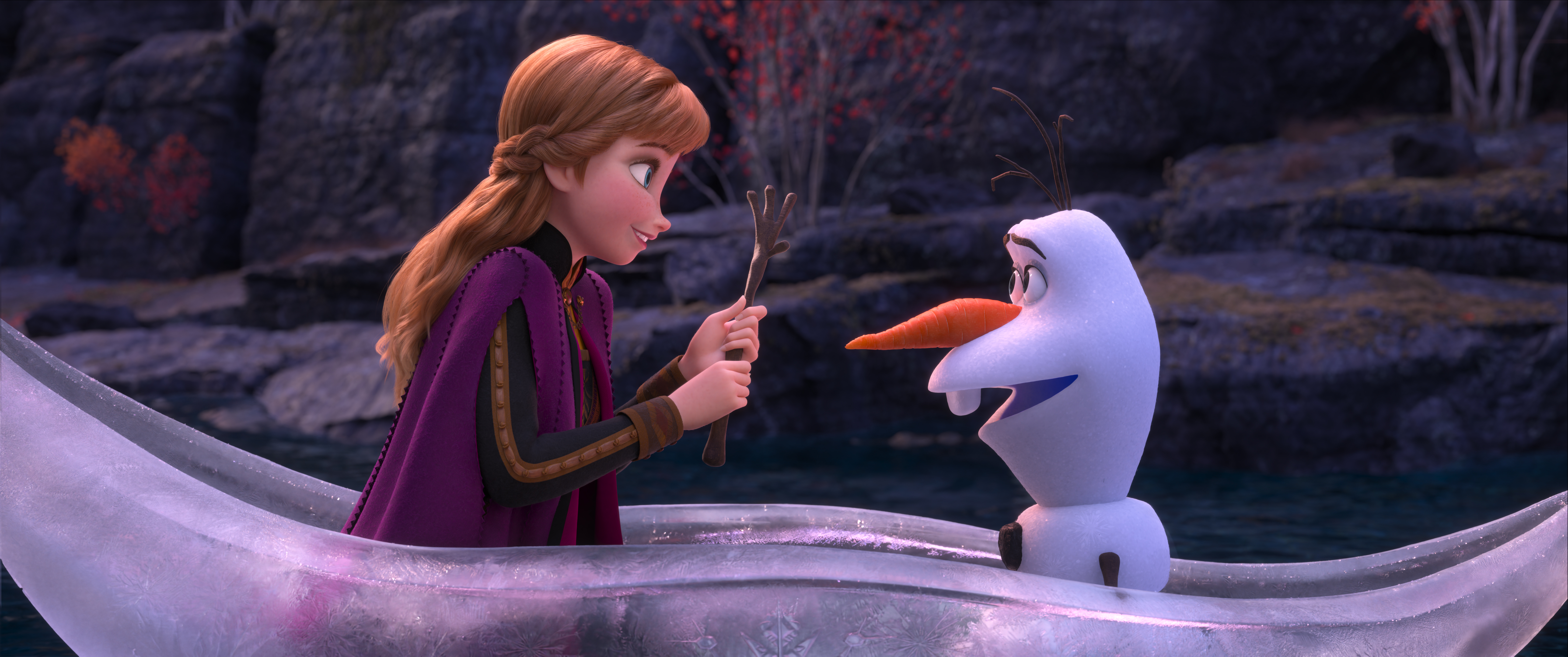 Anna and Olaf Frozen 2