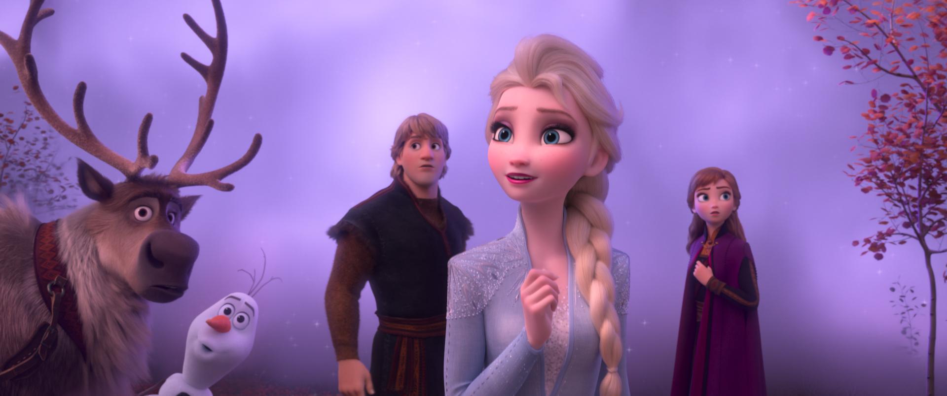 Frozen 2 main characters, Frozen 2 safe for kids
