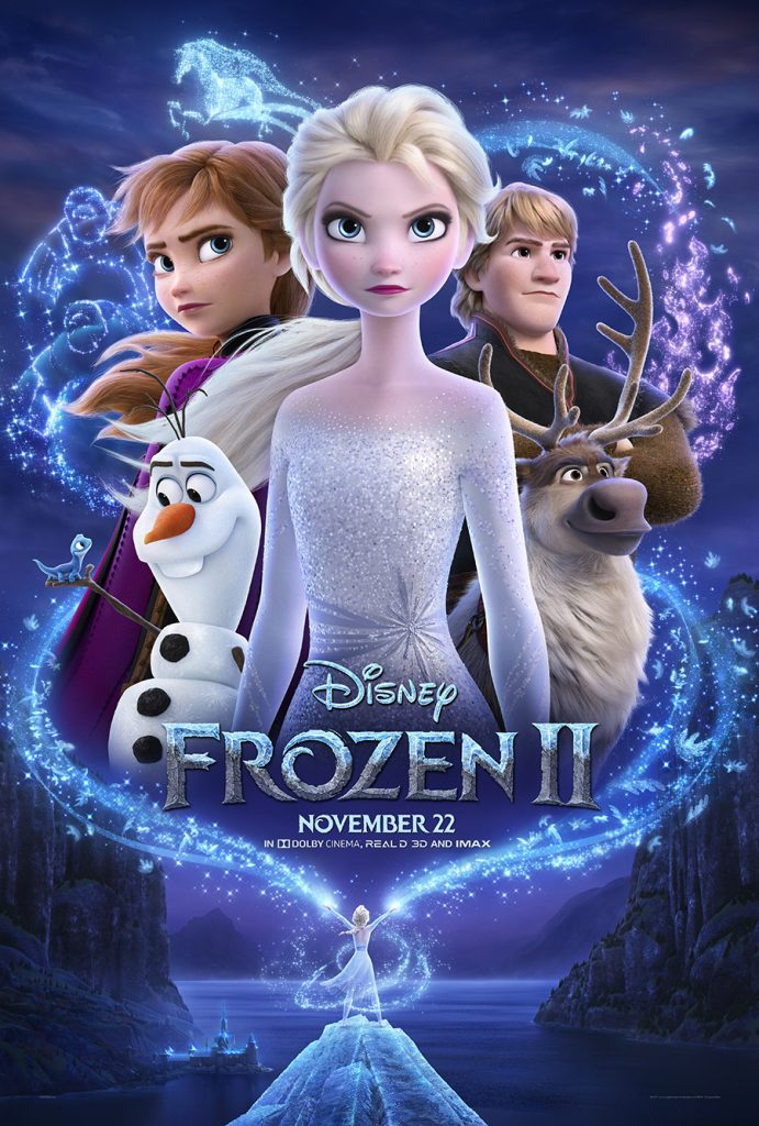 Frozen 2 Poster, Frozen 2 Kid Friendly, Frozen 2 Movie Review