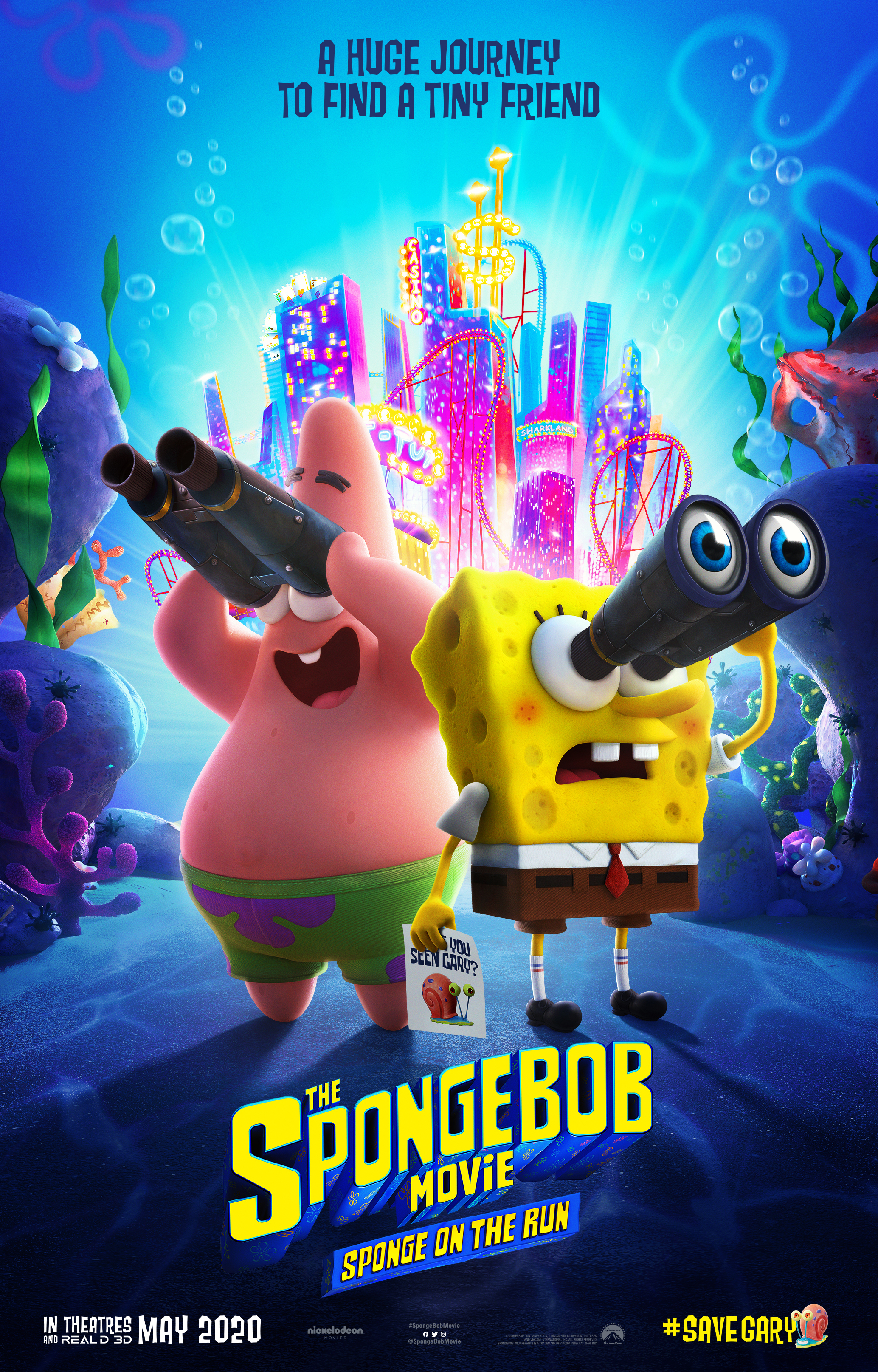 spongebob movie sponge on the run trailer