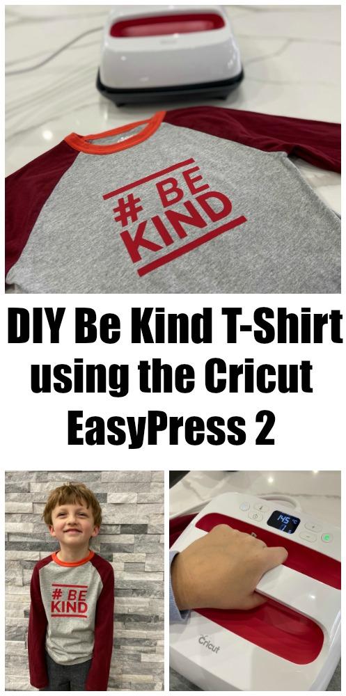 Cricut EasyPress 2 T Shirt Tutorial